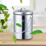 Chirsemey Poubelle de cuisine Bio 3 l - Compost - Poubelle anti-odeurs - Poubelle de cuisine - Poubelle à compost - Avec couvercle