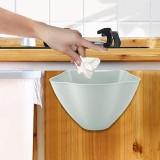 Poubelle de cuisine poubelle bac à compost de cuisine 8 x 6 x 5 5 pouces pour porte de placard de comptoir poubelle suspendue pour la maison pour la cuisine(gray)
