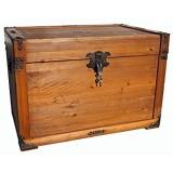 MYBOXES Coffre au trésor coffre de pirate Taille 60 x 40 x 41 cm