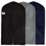 HBCOLLECTION 5 Housses Respirantes pour vêtements Format Court (Chemise Veste.) Coloris Marine