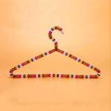 SAASNY Cintres Classiques Lot de 15Cintres en Perles De Cristal De avecCintres De Magasin De Vêtements pour Adultes (40X21cm)