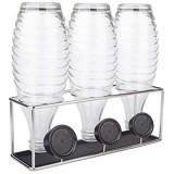 HunDun - Égouttoir à vaisselle en acier inoxydable - Pour SodaStream Crystal  Emil et bouteilles en verre